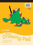 Pacon Corporation Pac104610 White Drawing Pad 9X12
