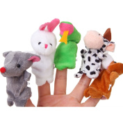 The Twelve Zodiac Animal Finger Puppets Toy