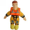 Fireman Sam 20cm Plush Collectables - Boat Rescue Sam