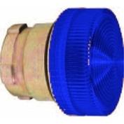 22mm Pilot Light, Metal, 24VAC/VDC, LED, Blue
