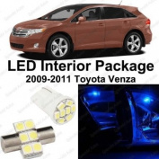 Ultra Blue LED Toyota Venza Interior Package Deal 2009 - 2011