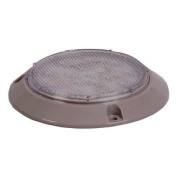 Dome Light, 15 LED, 10cm , Round, Clear
