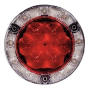 Combo Stop/Tail/Turn Back Up Light, Red