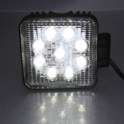 MaxSale 27W 9LED Driving Work Flood Light Lamp For Offroad Jeep Truck Boat SUV