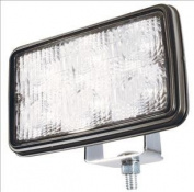 FORWARD LIGHTING, CLEAR, WORK LAMP, LED, TRAPEZOID PATTERN