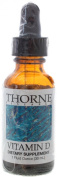 THORNE RESEARCH - Vitamin D (D3) Liquid - 30ml [Health and Beauty]