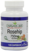Natures Aid Rosehip Vegicaps 750mg Pack of 120