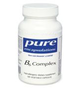 Pure Encapsulations - B6 Complex Now with Metafolin L-5-MTHF - 120 vcaps