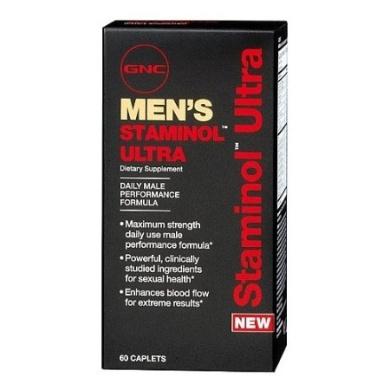 GNC Men's Staminol Ultra 60 Caplets