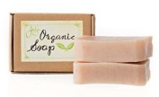 Jensan Rose Natural Organic Soap with Shea Butter and Essential Oils