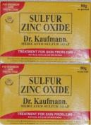 Lot of 2 Dr. Kaufmann Medicated Sulphur Soap