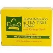 Nubian Lemongrass and Tea Tree Soap (5 oz.)