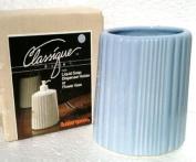 1960's Vintage Ceramic LIQUID SOAP DISPENSER HOLDER or FLOWER VASE Classique Bath RUBBER QUEEN
