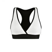 Zumba Fitness Women's Hubble V Sports Bra - White, X-Large