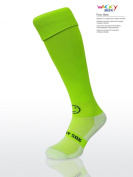WackySox Flourescent Green Sports Socks