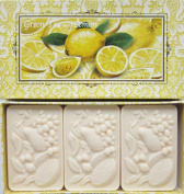 Saponificio Artigianale Fiorentino Green Tea & Lemon Soap Set From Italy