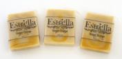 Handmade Natural Vegan Soap 3 Bars Ginger Orange