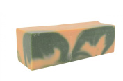 Apple Cantaloupe Artisan Olive Oil Soap Loaf -3 Pounds