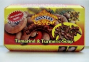 Tamarind and Turmeric Soap : 6 Pieces