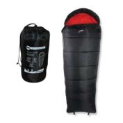 Milestone Camping Mummy Sleeping Bag - Black
