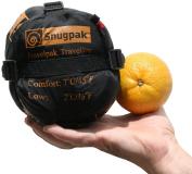 Snugpak Travelpak Traveller Sleeping Bag - Red - Right Handed