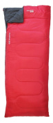 Yellowstone Comfort 200 Sleeping Bag - Red and Black