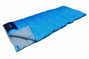 High Peak Ceduna Sleeping Bag- Light Blue/Dark Blue, 200X80 Cm