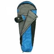 10T Mummy sleeping bag YUKON 175L up to -18°C - 215x85/55 cm
