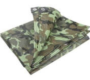 1.8m x 2.4m camouflage tarpaulin waterproof sheet cover ground ground army camo