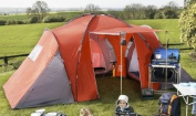 6 Berth Polyester Calypso Tent With 3 Sleeping Compartments