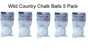 Rock Climbing Chalk Ball 5 Pack