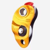 Petzl Pro Traxion Climbing pulley yellow/orange
