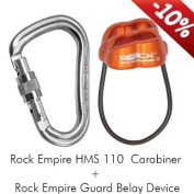 Rock Empire Climbing Belay Device Guard set