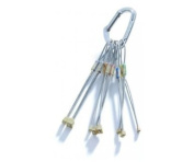 Rock Empire BRASS-CHOCK set 1-8 ROCK CLIMBING NUTS