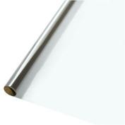 80cm . x 100 ft. Sparkle Wrap Clear Cellophane Wrap Roll Pkg/1