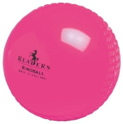 Readers Windball Cricket Training Practise Ball Pink - Senior