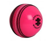 grey-NICOLLS Pink Wonderball Cricket Ball