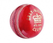 Grey-Nicolls Mens Club Leather Cricket Ball