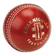 grey-NICOLLS Test Crown Cricket Ball