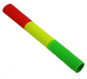 Rastafari Upfront Jiggyjazz Cricket Bat Grip - Red/Yellow/Green