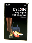 Dylon Shoe Dye (For use on Leather, Faux Leather & Canvas) Black