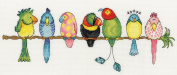 Bothy Threads Exotic Birds Fun Cross Stitch Kit