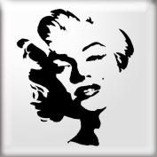 The Stencil Studio Famous Faces Range - Graffiti Style Marilyn Monroe Reusable Stencil - Size A5