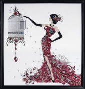 Design Works Counted Cross Stitch Kit - Bird Cage