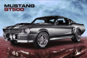 Ford Shelby - Mustang Gt500 Sky - Maxi Poster - 61 cm x 91.5 cm