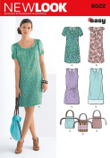 New Look Sewing Pattern - Misses' Dresses & Bag Sizes