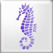 The Stencil Studio Seahorse Reusable Stencil - A5 Size