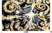 Doctor Who (Exploding Tardis) - Maxi Poster - 61cm x 91.5cm