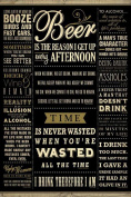 Empire 426758 Beer - Drinking Quotes Fun Alcohol Poster 61 x 91.5 cm