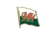 Wales Flag, welsh Flag Lapel Pin Badge, 1.9cm x 1.9cm , MaxFlags®